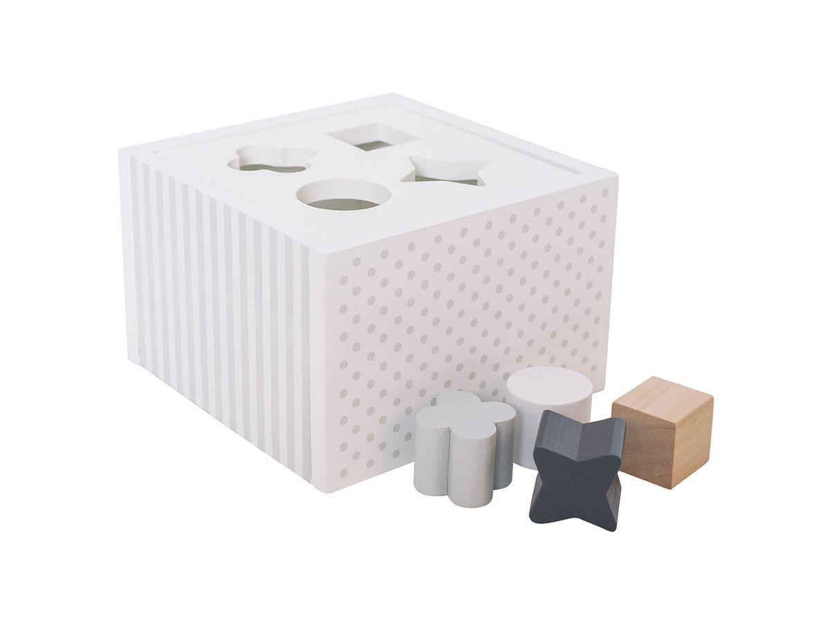 Wei/ß JaBaDaBaDo W7098 Sorterbox
