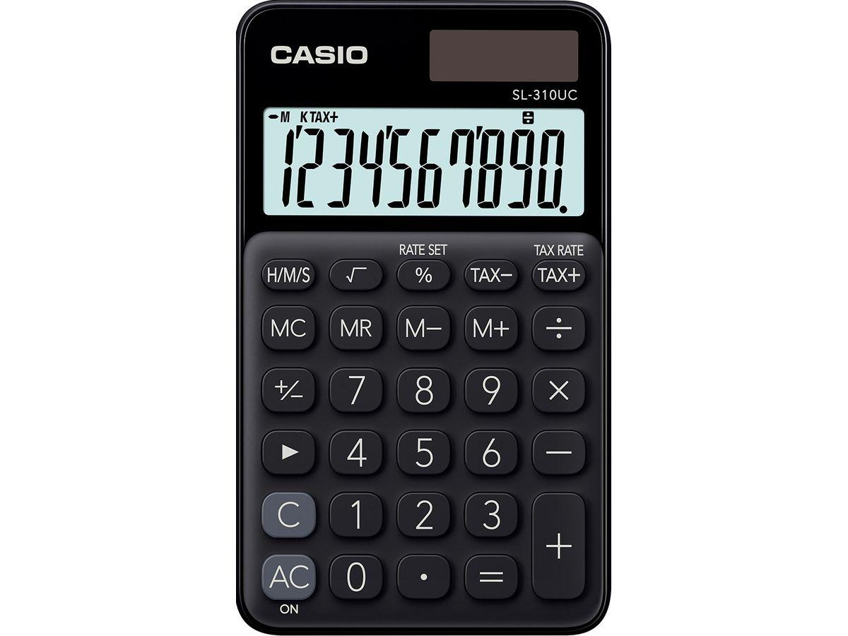 Taschenrechner Rechner einfache Grundfunktionen schwarz