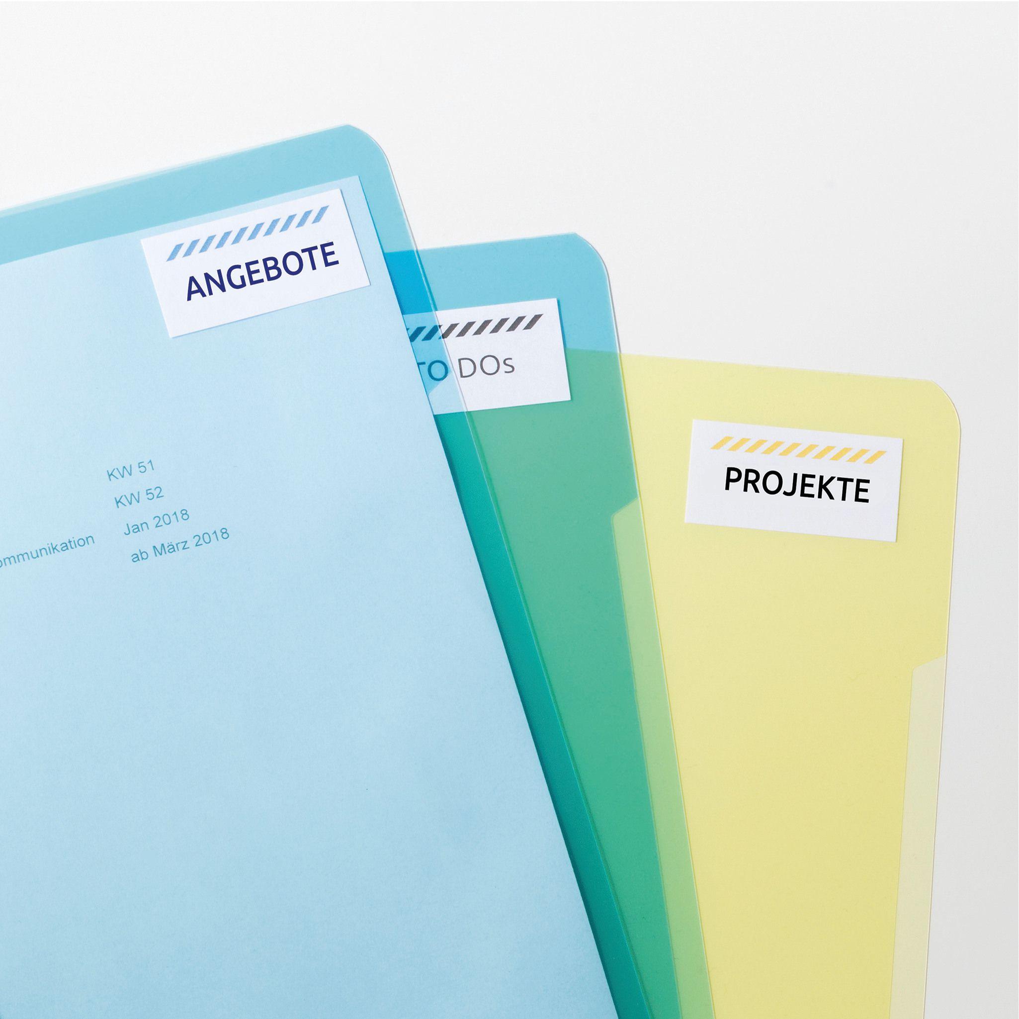 Kores Universal Etiketten 70 x 32 mm weiß 100 Blatt 2.700 Etiketten